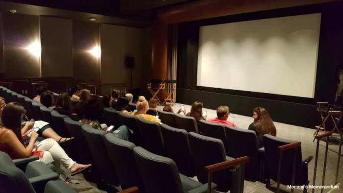 inside abc screening room