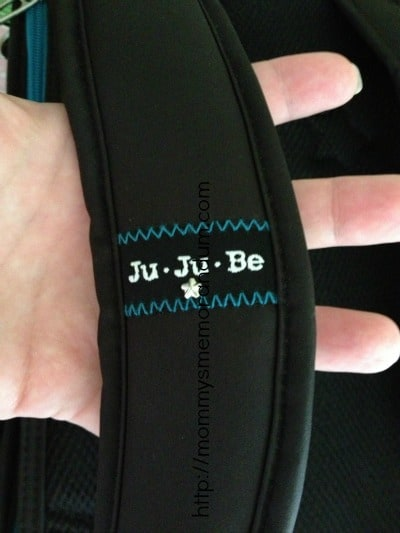 jujube padded strap on diaper bag