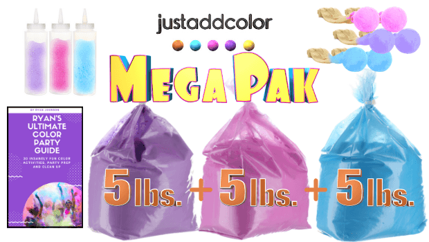 just add color party mega pak