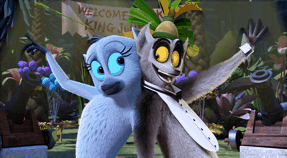 DreamWorks All Hail King Julien: Season 3 is streaming on @Netflix!