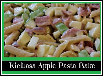 This Kielbasa Apple Pasta Bake recipe combines the tart sweetness of Granny Smith Apples with the salty, savory taste of Kielbasa sausage for a go-to dish.