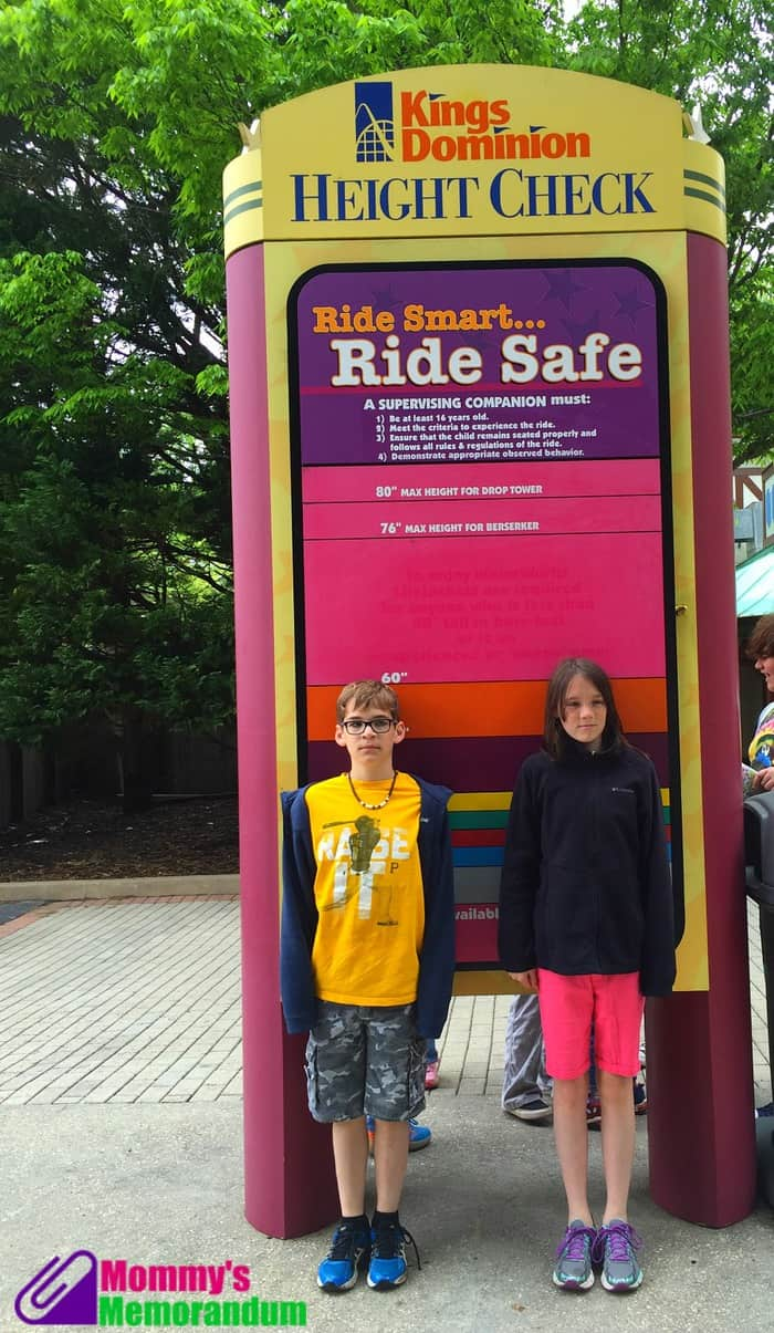 kings dominion height check