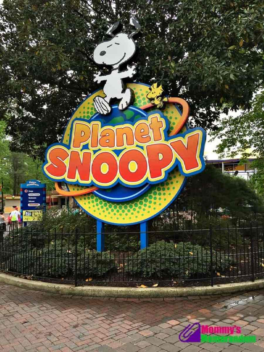 kings dominion planet snoopy