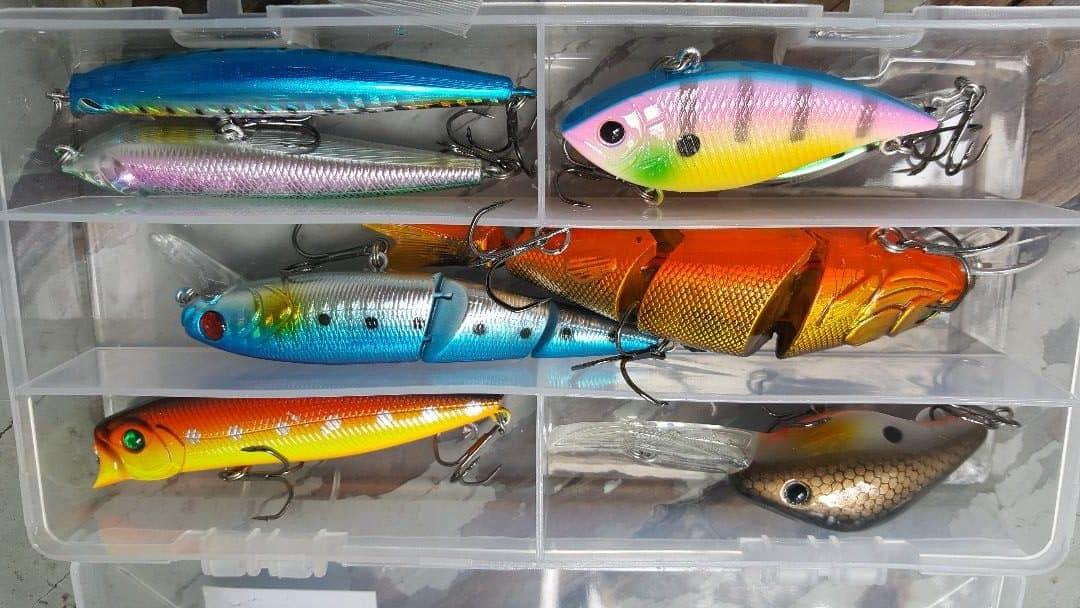 large fishing lures
