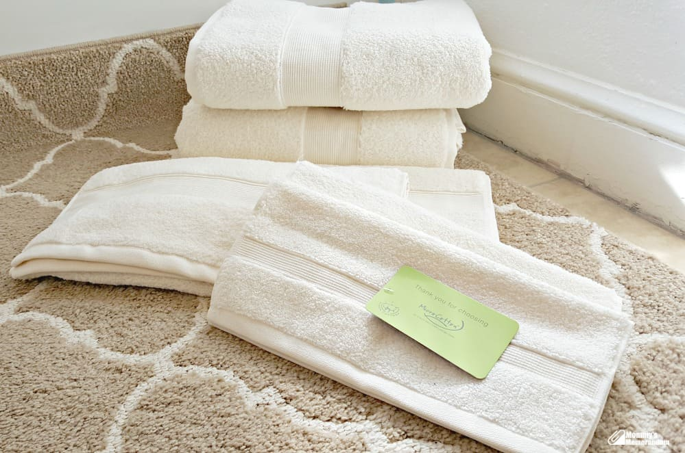 Hotel collection microcotton towels