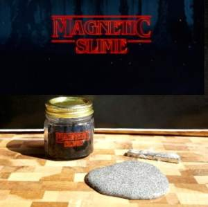 Stranger Things Magnetic Slime