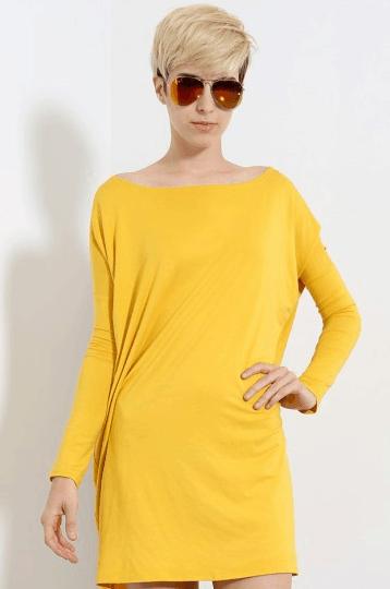 Oversized Jersey Tunic Dress