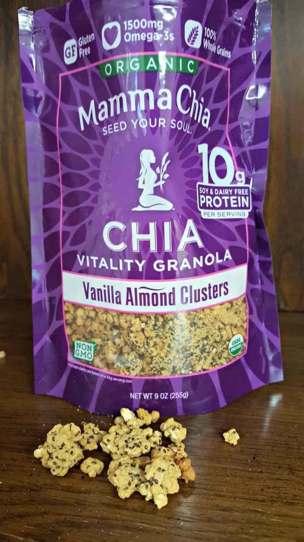 mamma chia almond vanilla granola