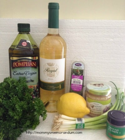 Franco Espanolas Royal White Marinade recipe ingredients