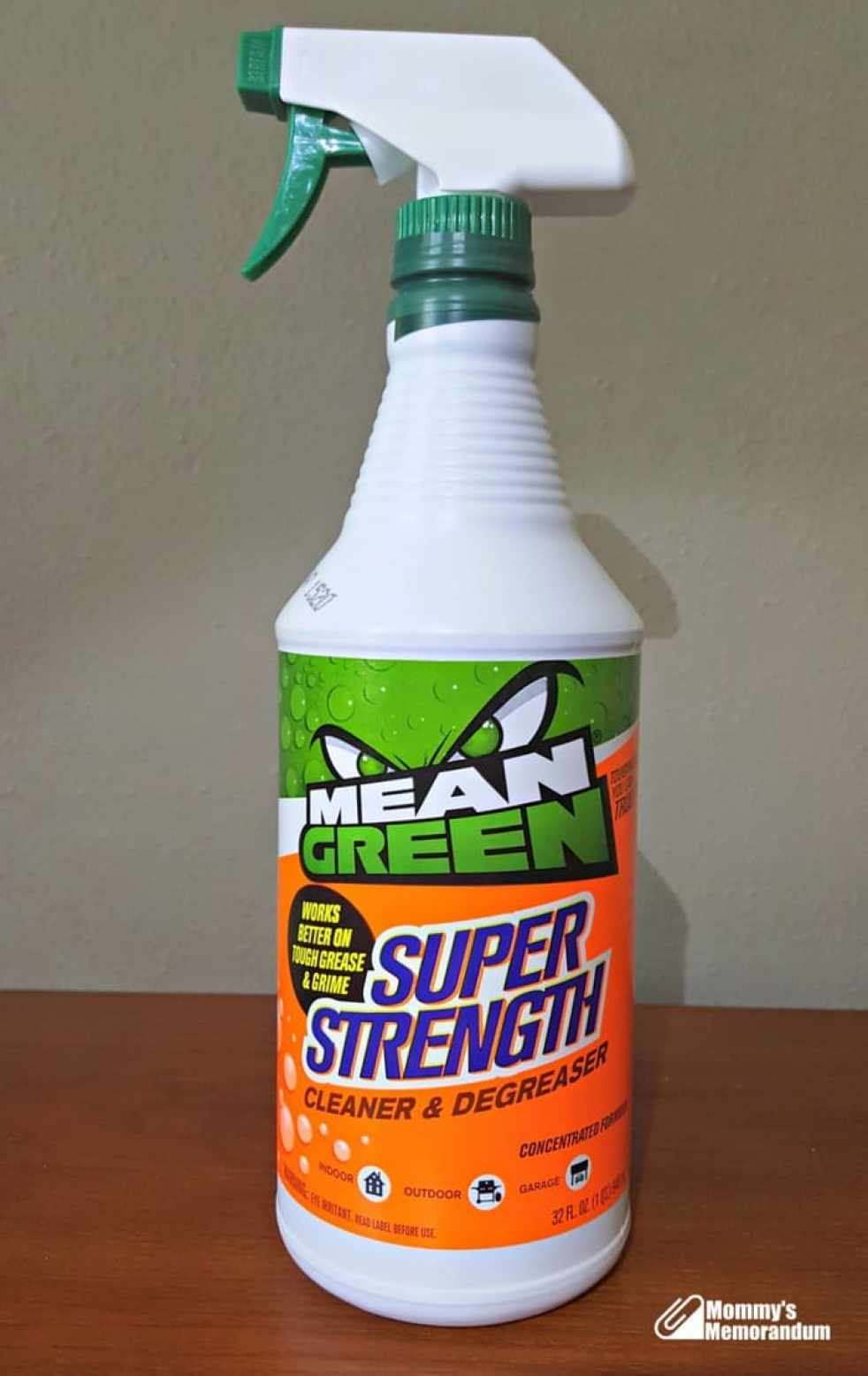 Spring Clean Inside And Out With Mean Green