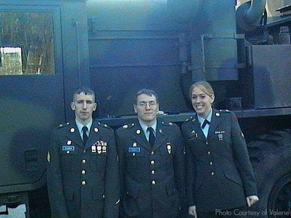 military women valerie m