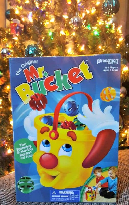 mr bucket holiday gift idea