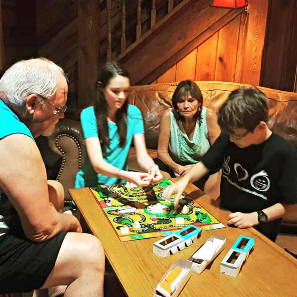 new river gorge cabins country roads family game night