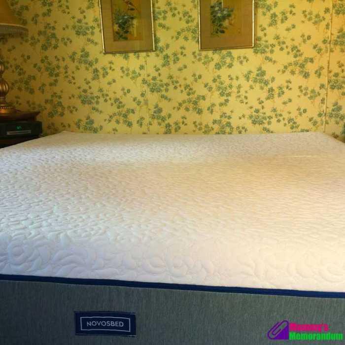 novosbed king mattress