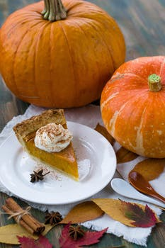 healthy thanksgiving options pumpkin pie