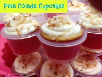 pina colada cupcakes recipe