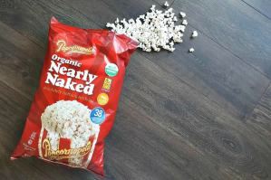 Popcornopolis Nearly Naked Popcorn Nothing Artificial