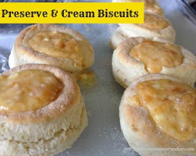 preserve and cream biscuits recipe