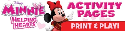 print and play minnie mouse helping hearts