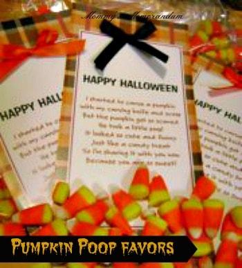pumpkin poop favor