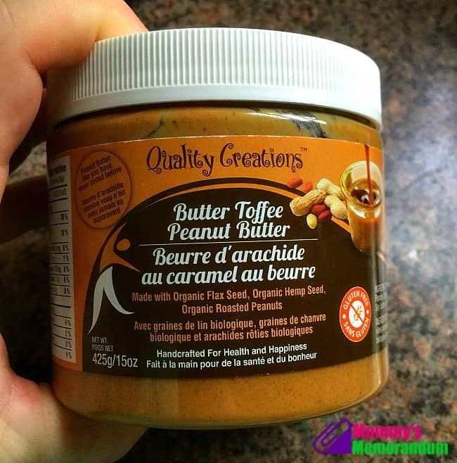 quality creations butter toffee peanut butter