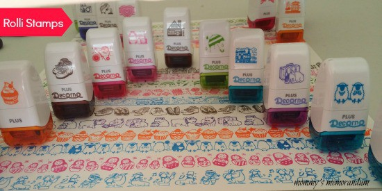 rolli stamps display