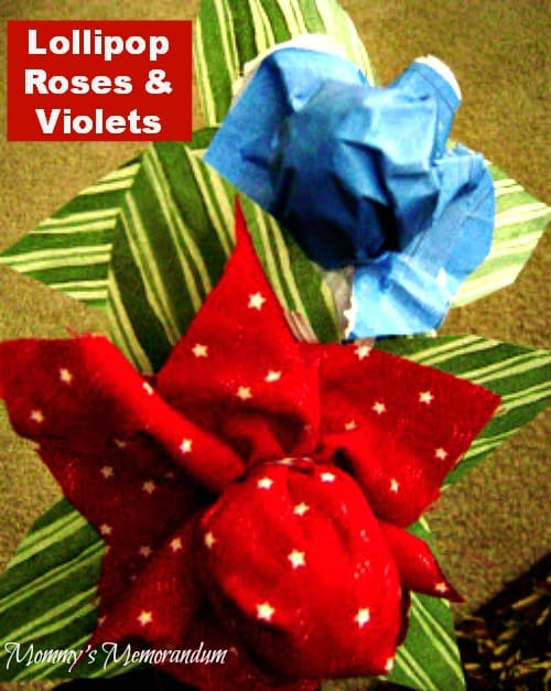 Roses are Red #DIY #Valentine #craft