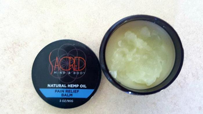 sacred mind and body pain relief balm