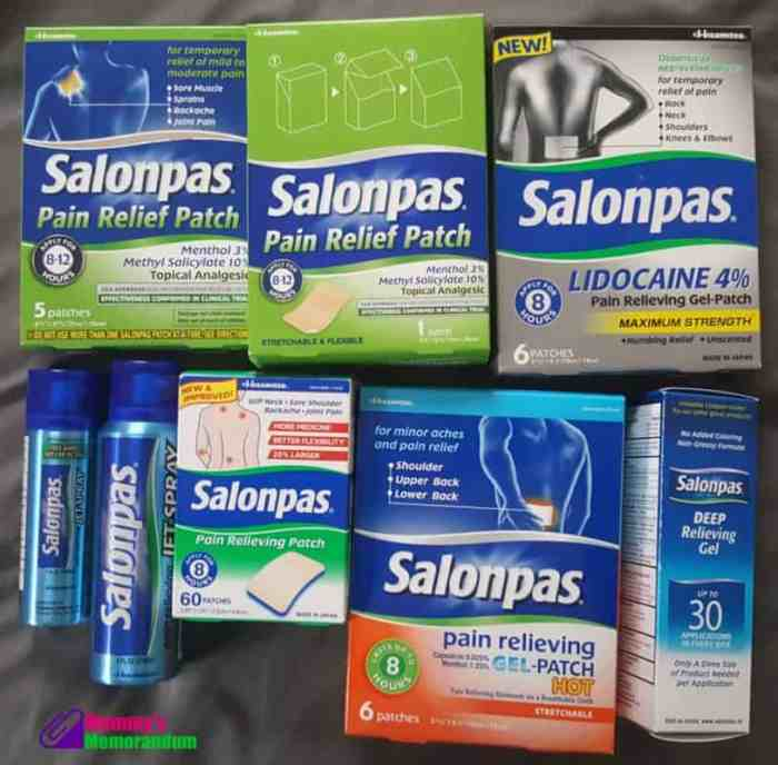 Pain Relief Products by Salonpas to Keep You Moving