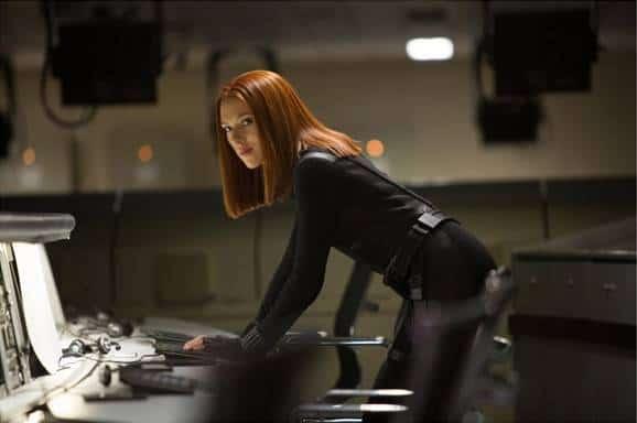 scarlett Johansson in Captain America The Winter Storm