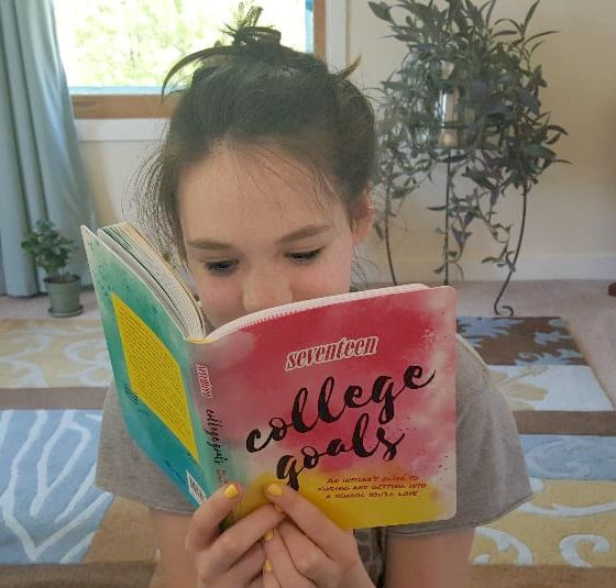 seventeen college goals reading the book