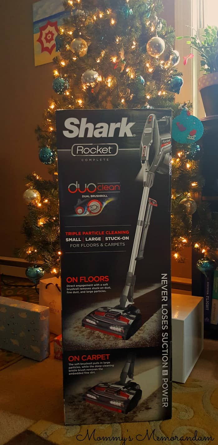 shark-rocket-duo-vacuum-under-tree