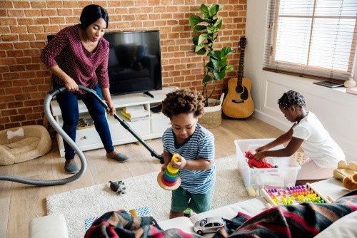 13 Tips to Have a Mess-Free House Even with Small Children