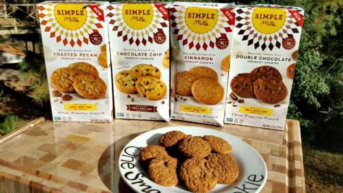 simple mills cookies boxes