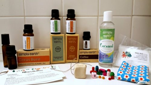 simply-earth essential oils-december-bring-in-the-holidays-subscription-box