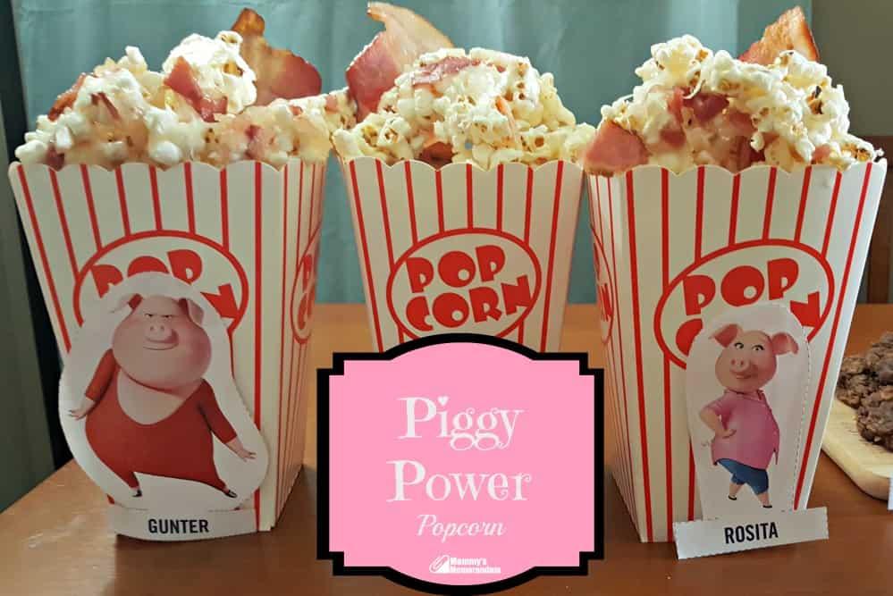 sing piggy power popcorn