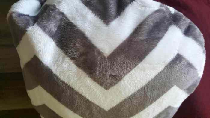 sleep zzz pillow luxurious 3mm pile cover