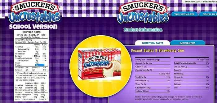 smuckers crustable