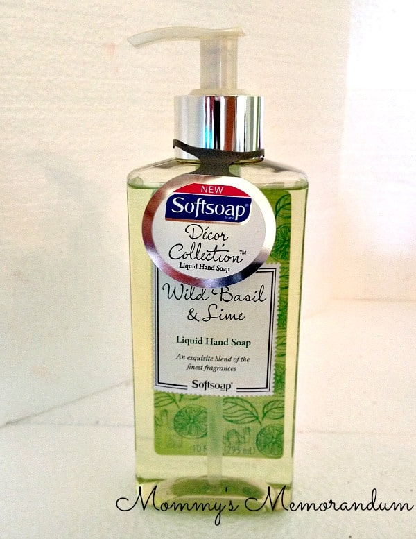 softsoap decor collection wild basil and lime