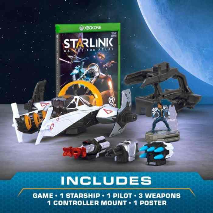 starlink battle for atlas what's included