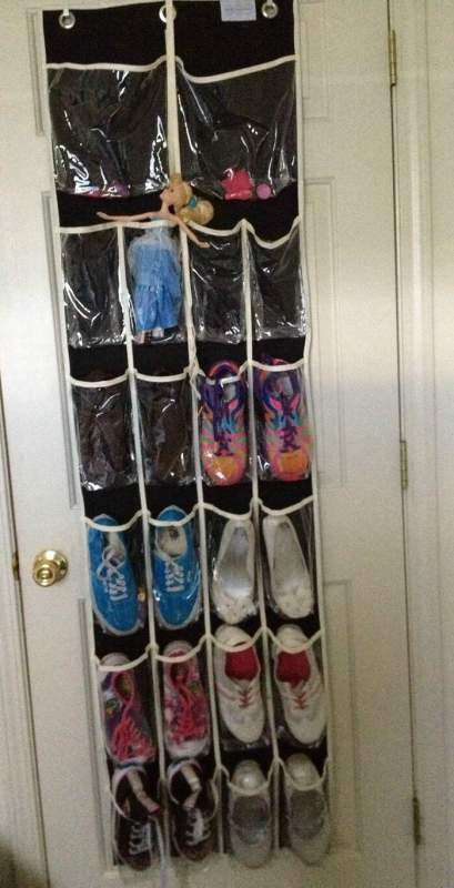 stock it pockets over the door organizer