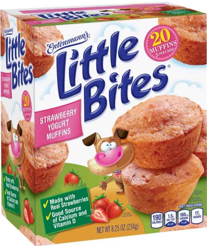 Entenmann's Strawberry Yogurt Muffins