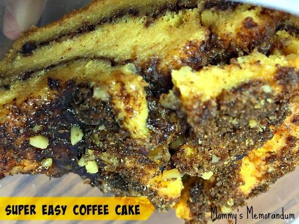 super easy coffee cake