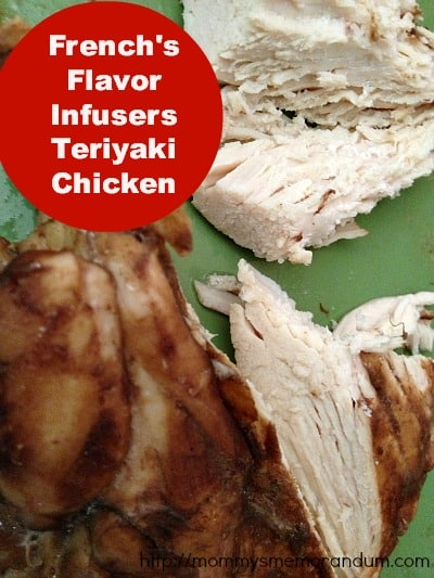teriyaki chicken french's flavor infuser