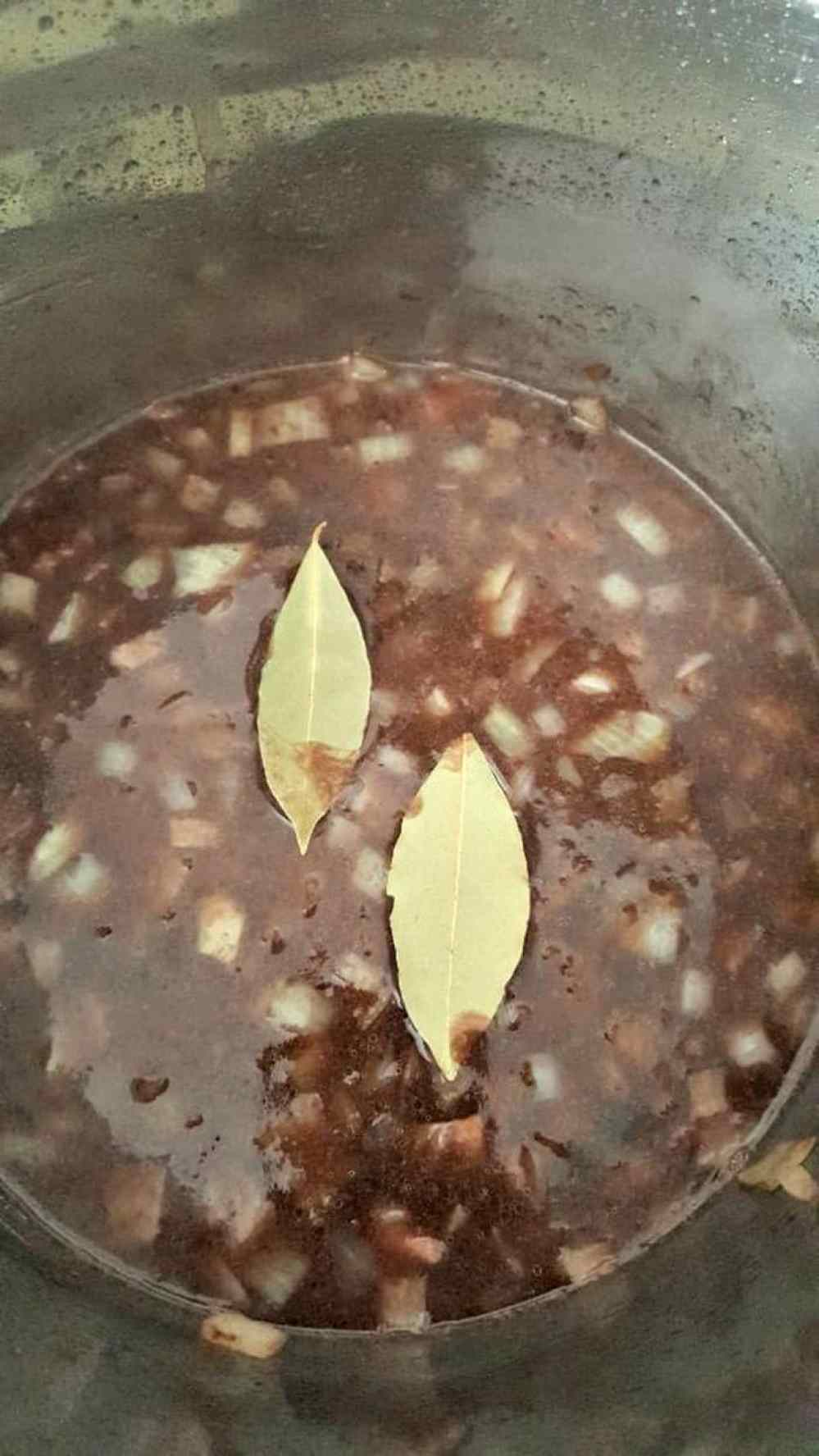 the best instant pot french dip sandwich recipe adding bay leaves