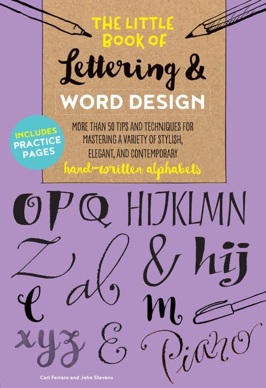 the little book of lettering and word design