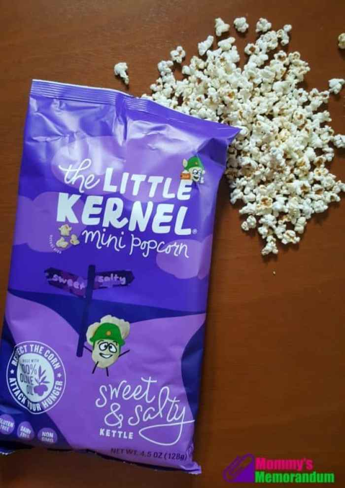 the little kernel in a variety of flavors