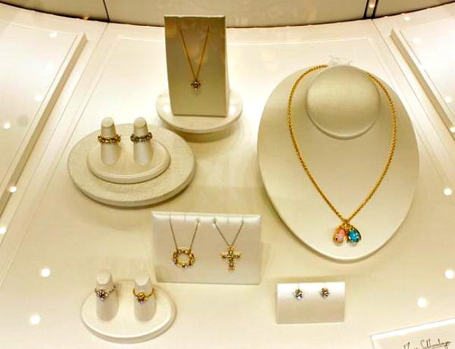tiffany and co display case