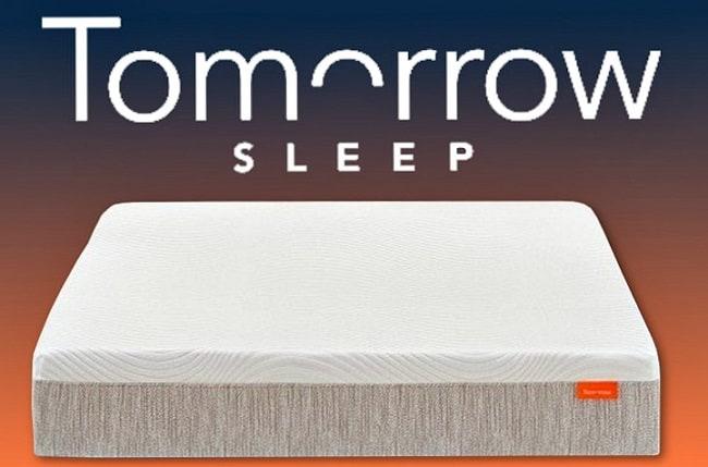tomorrow sleep mattress with logo