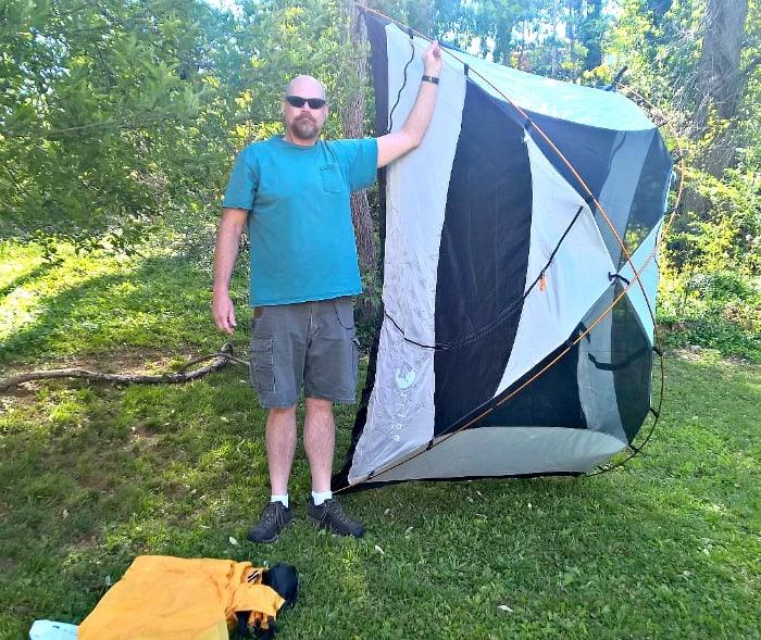 tribe adventure tent II idea of size